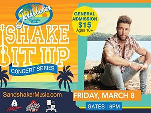 March 8th, Shake It Up Concert Series - Chris LANE